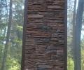 Галерея объектов для Искусственный облицовочный камень ТАНВАЛЬД КОРИЧНЕВЫЙ 07, CRAFTSTONE