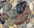 Галерея объектов для Искусственный облицовочный камень ГАЛЕЧНИК СЕРЫЙ 03, CRAFTSTONE