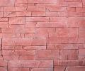 Варианты цветов для Искусственный облицовочный камень СКАЛИСТЫЙ ПЛАСТ КРАСНЫЙ 08, CRAFTSTONE